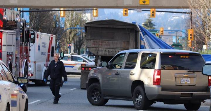 RCMP investigating fatal cyclist collision on North Shore
