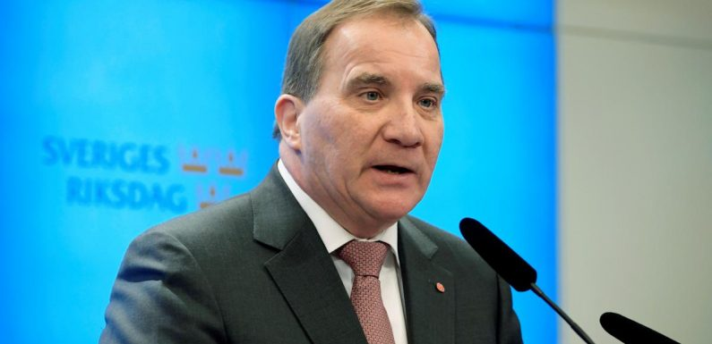Swedish PM hopeful Lofven given 48 hours to salvage government deal