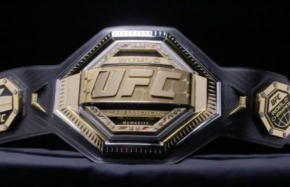 The New UFC Championship Belt Looks Like A Toy