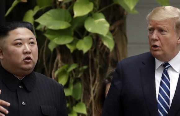 Trump says 'no rush' for deal as talks get underway with Kim Jong-un