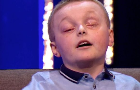Brave blind football mad boy Declan leaves This Time Next Year viewers in tears