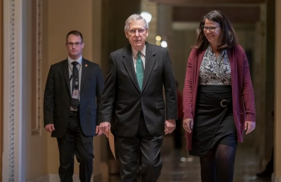 McConnell: Trump will sign bill and declare emergency to get border wall funding