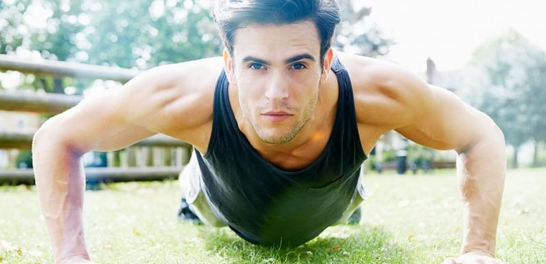 Men who struggle to do more than 40 push-ups have a higher risk of heart disease