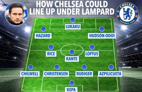 How Frank Lampard could line up Chelsea next season if he takes over from Maurizio Sarri
