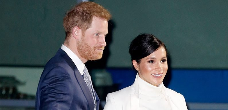 Duchess Meghan's Baby Bump Has Popped! See Her and Prince Harry at London Gala