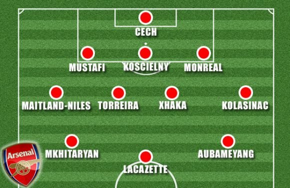 Arsenal team news and predicted line ups: Emery to field strong team despite no Ozil and Ramsey