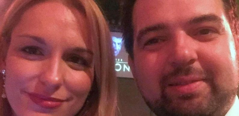 Wife of 'friend of the stars' Brit, 39, rejects claims partner fled police before Majorca balcony plunge and claims 'gust of wind' may have blown him off