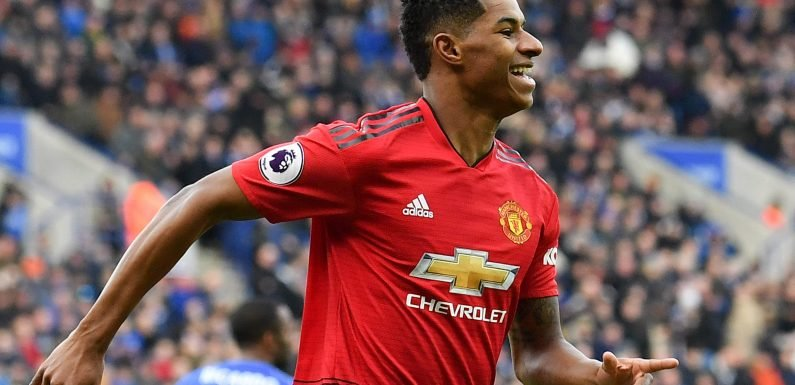 Man Utd want to get Rashford contract sorted by end of season as Real Madrid plot swoop