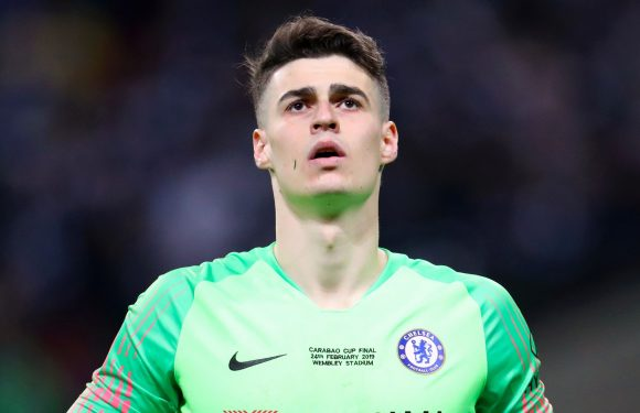 Kepa dodges punishment for disobeying Sarri with Chelsea keeper set to face Spurs at Wembley on Wednesday