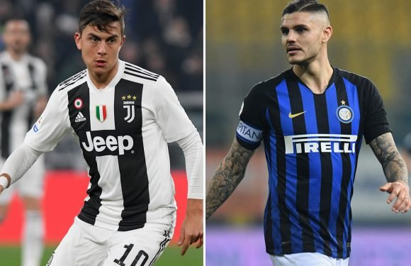 Juventus and Inter could be set for huge swap deal involving Dybala and Icardi