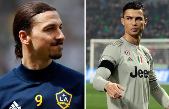 Ronaldo transfer to Juventus sneered at by Ibrahimovic who says it's not a real challenge