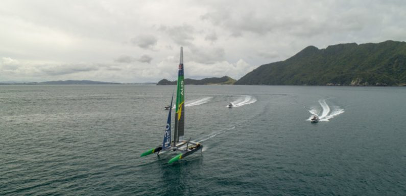 Sailors reaching 100km/h 'packing themselves for Formula One on water'