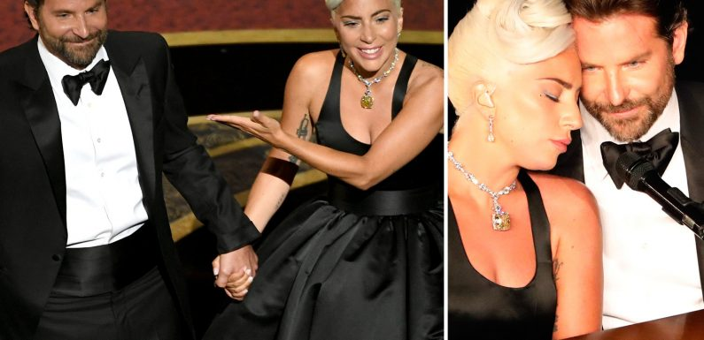 Lady Gaga and Bradley Cooper's loved-up Oscars 2019 performance was 'faked' claims body language expert