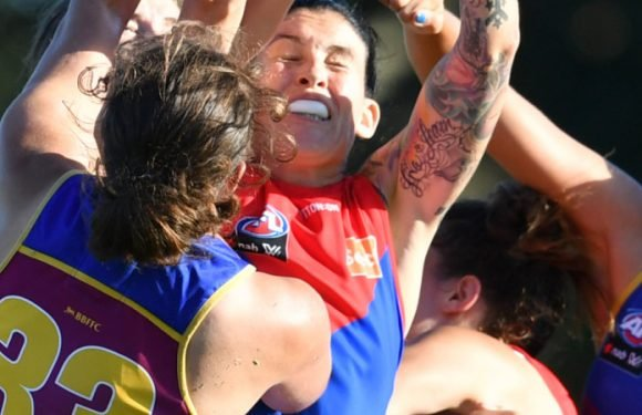Demons too sharp for young Lions in AFLW