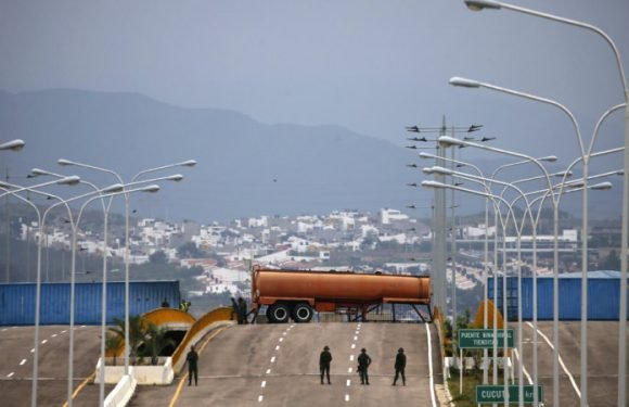 With millions of dollars of US aid stuck at the Venezuelan border, what happens next?