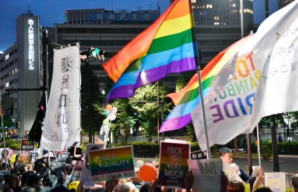 Same-sex couples in Japan sue for equal marital rights