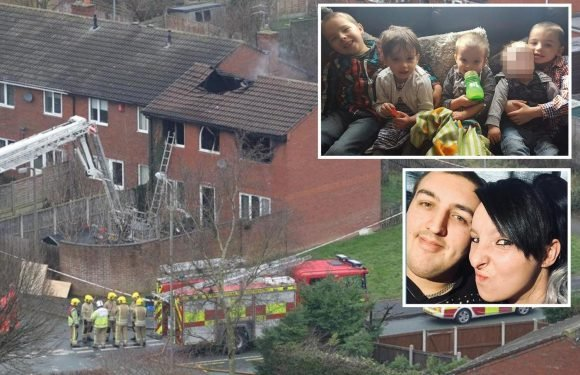 Family of mum and dad held over death of four kids in house fire slam manslaughter arrests and claim 'they've done nothing wrong'