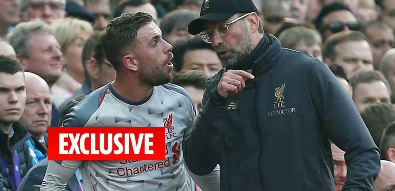 Furious Jurgen Klopp tore into players as he raged about lacklustre goalless draw against Man Utd