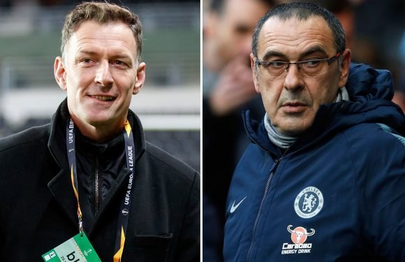 Sarri on brink of sack and 'done' at Chelsea while his tactics are 'broken', blasts Chris Sutton