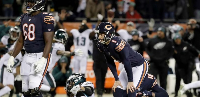 NFL's Chicago Bears to cut 'double-doink' kicker Cody Parkey: reports