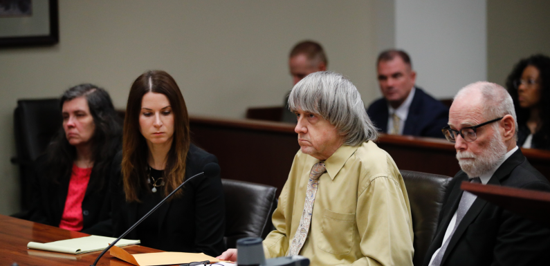 California 'house of horrors' parents plead guilty: report