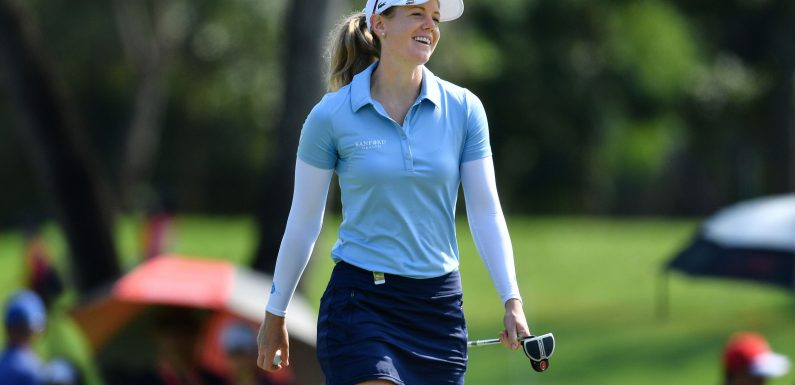Amy Olson gives her side of 'backstopping' issue; LPGA won't penalize players