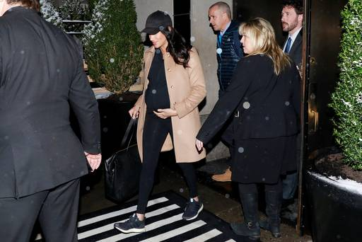 Meghan Markle jets home to UK after five-day trip to New York for lavish baby shower