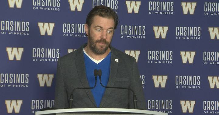 Winnipeg Blue Bombers still talking with Sukh Chungh but Taylor Loffler to explore the open market