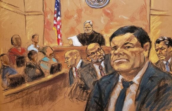 Violent, colorful drug lord 'El Chapo' convicted in U.S. court
