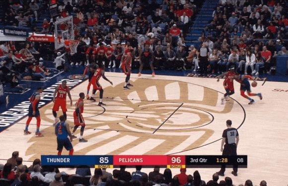 Jrue Holiday Put A Red-Hot Paul George In The Freezer