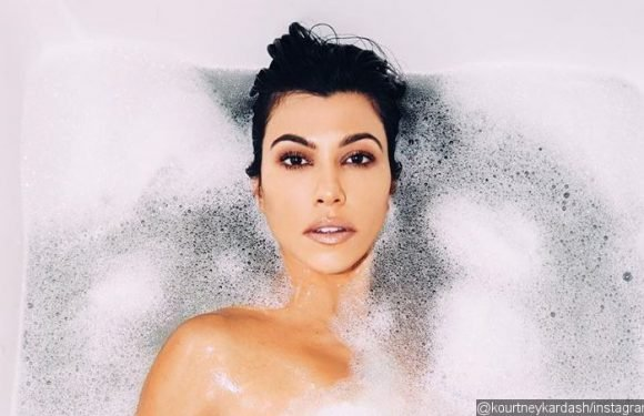 Kourtney Kardashian Is Trolled for Photoshop Fail After Fans Notice 'Missing Thigh' in Nude Photo