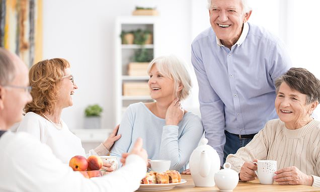 People are happiest when they are older, says study
