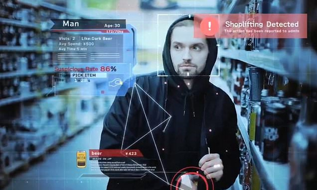 Minority Report-style AI can spot shoplifters BEFORE they steal