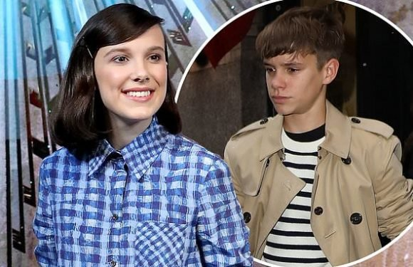 Romeo Beckham 'dating' Millie Bobby Brown