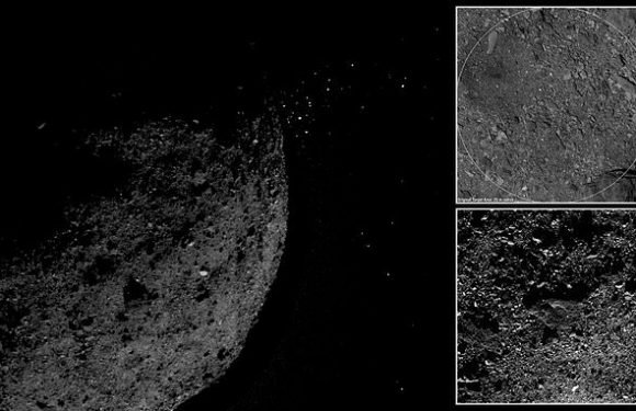 NASA spots particle plumes erupting from the surface of asteroid Bennu