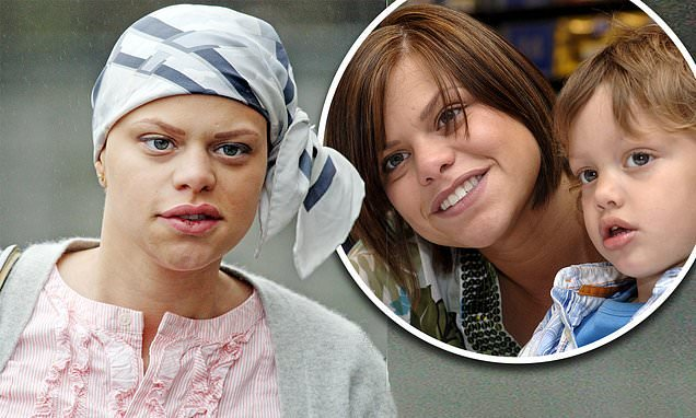 Jade Goody carried her son to her hospital bed in her final hours