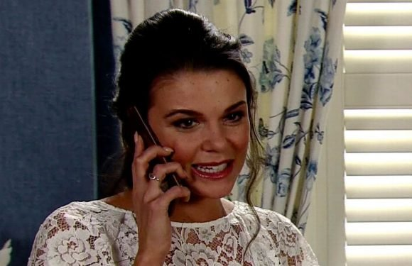 Sharon Marshall teases worrying call for Corrie's Rana and Kate during wedding