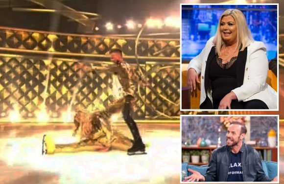 Dancing on Ice's Gemma Collins will do the splits on tonight's live final after Jason Gardiner 'fat-shaming' scandal