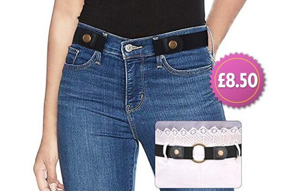 Genius £8.50 belt from Amazon will prevent your jeans from ever gaping at the back again