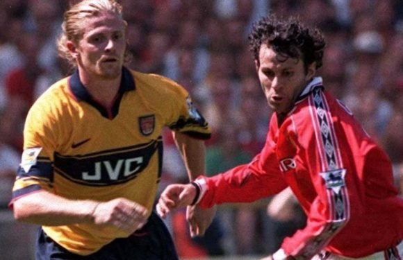 Giggs says he didn't like Petit 'because he had long hair' as he opens up on Man Utd-Arsenal rivalry