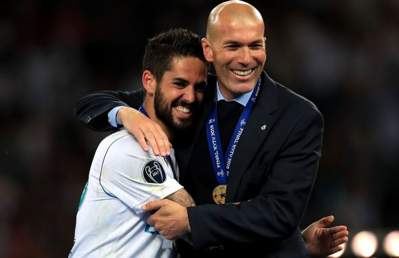 Man Utd and Arsenal blow as Isco insists Zidane return to Real Madrid 'good news for everyone'