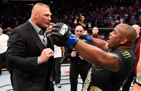 WWE champ Brock Lesnar set for summer UFC return with Cormier 'wanting it bad'