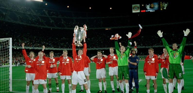 Man Utd Class of '92 legends including Beckham to play in Treble Reunion match managed by Sir Alex Ferguson at Old Trafford