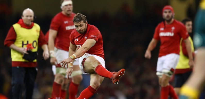 Why is Leigh Halfpenny NOT playing for Wales against Scotland in today's Six Nations?