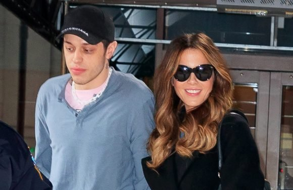 Who is Pete Davidson and when was Kate Beckinsale's boyfriend engaged to Ariana Grande?