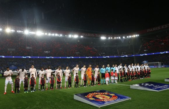 Man Utd fan, 44, fighting for life after being stabbed by taxi driver following win at PSG