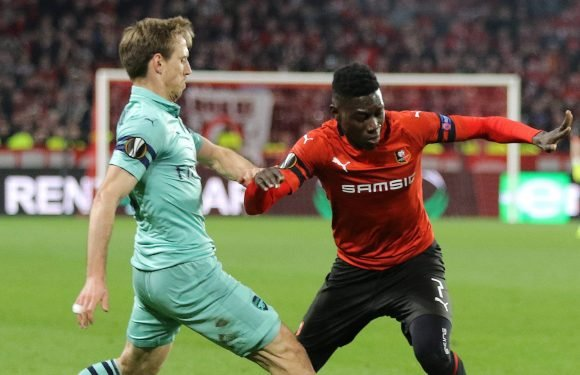 Arsenal held Ismaila Sarr transfer talks straight after Europa League loss to Rennes