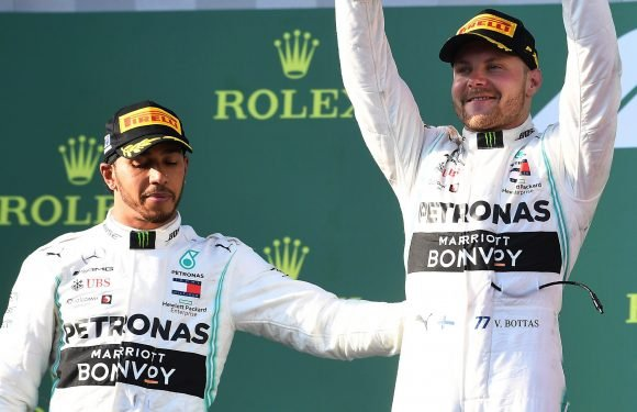 Hamilton returning to Mercedes' HQ to discover what wrecked his Australian GP