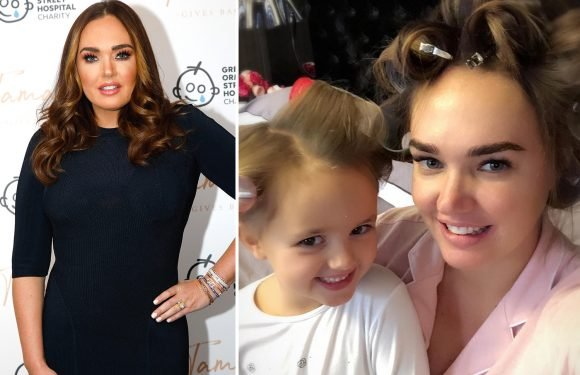 Tamara Ecclestone reveals she's 'seriously considering' Strictly but admits fears she'll crash out of show early as daughter Fifi, 5, is a better dancer