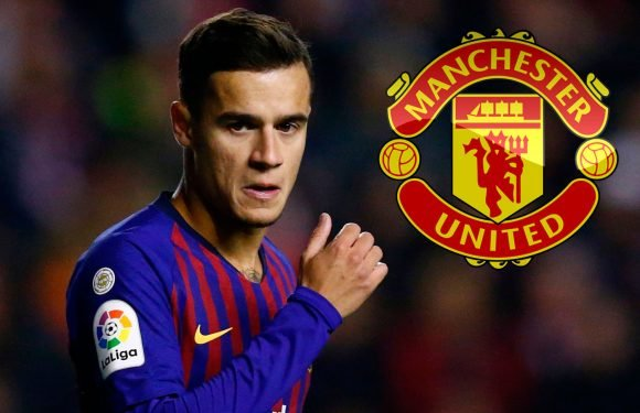 Man Utd on red alert as Philippe Coutinho hints future may not be at Barcelona